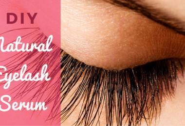 DIY Natural Eyelash Growth Serum