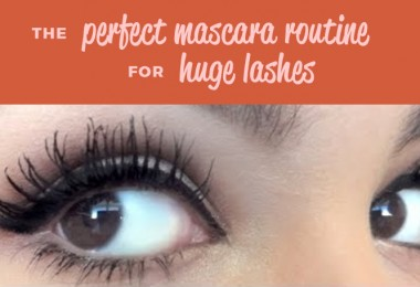The Perfect Mascara For Huge Lashes