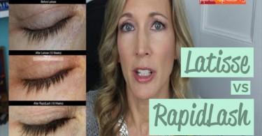 RapidLash Review and Latisse Comparison
